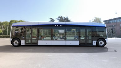 Aptis, l'e-bus di Alstom a Torino