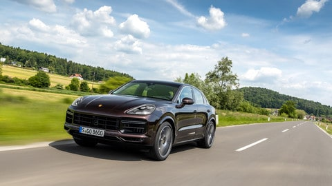 Porsche Cayenne Turbo Coupe: Foto