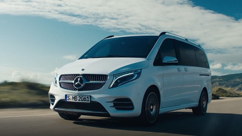 Nuova Mercedes Classe V: il primo test VIDEO