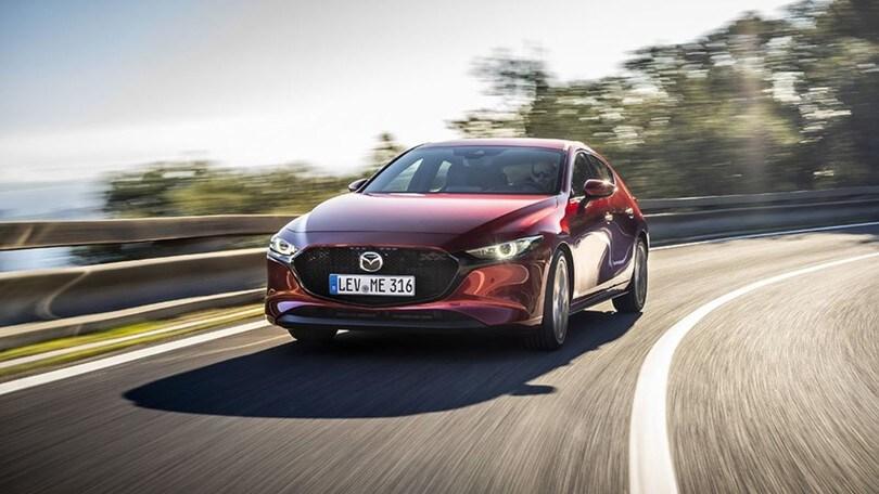Mazda 3, debutta lo Skyactiv-X