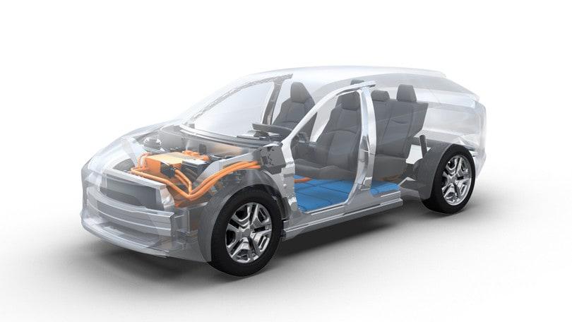 Toyota e Subaru, la sfida elettrica parte con un suv
