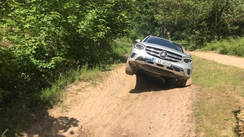 Mercedes GLC: il test off-road FOTO