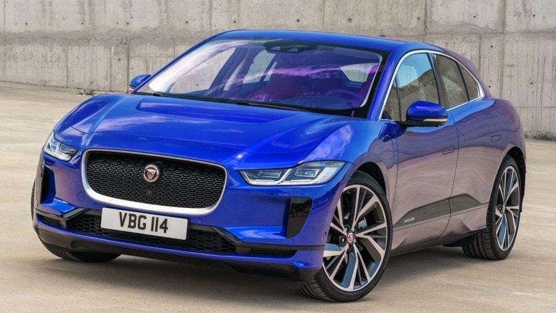 Parco Valentino, la Jaguar I-Pace nello stand di Auto