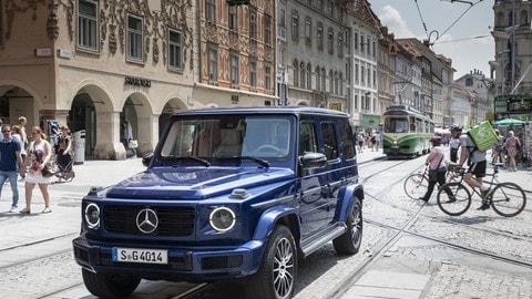 Mercedes Classe G, edizione 40 anni: foto