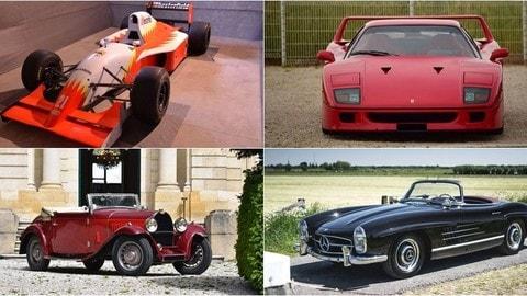 Automobiles en Scène, le foto delle auto all'asta