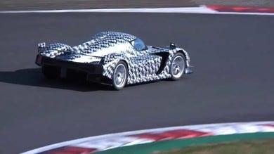Toyota GR Super Sport, l'hypercar in azione