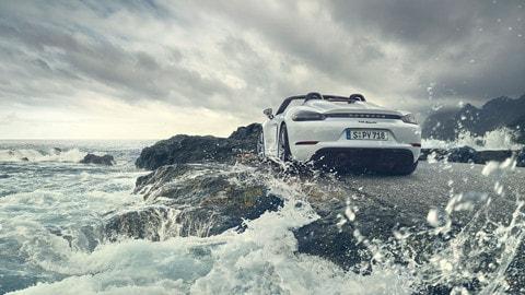 Nuova Porsche 718 Spyder - LE FOTO