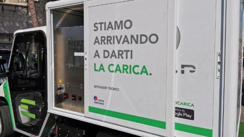 E-GAP, a Roma il servizio di ricarica on demand per auto elettriche