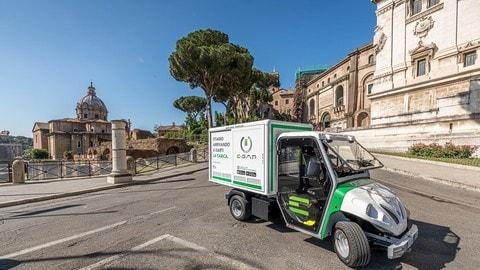 E-GAP, il servizio di ricarica mobile a Roma - FOTO