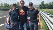 David Hasselhoff fermato dalla Polizia Stradale a Piacenza