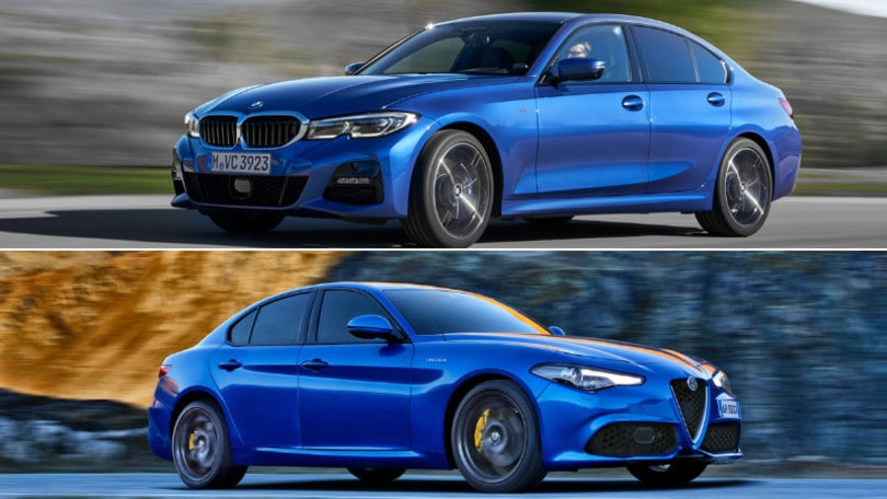 Su Auto in edicola: BMW Serie 3 contro Alfa Romeo Giulia