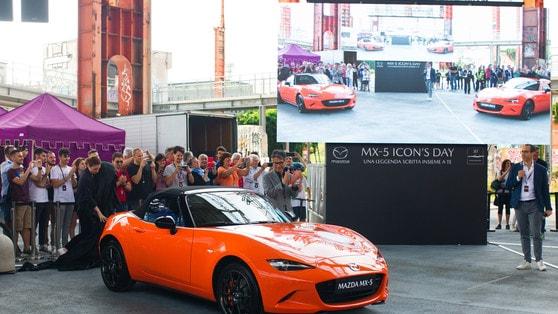Mazda MX-5, 30th anniversary edition al Parco Valentino