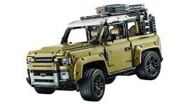 Nuovo Land Rover Defender, Lego anticipa il design FOTO