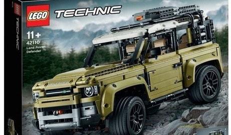 Nuova Land Rover Defender by Lego: le immagini