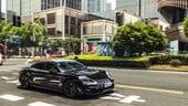 Porsche Taycan, passerella a Shanghai