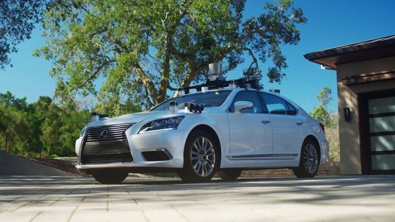 Toyota inizia i test di guida autonoma in Europa