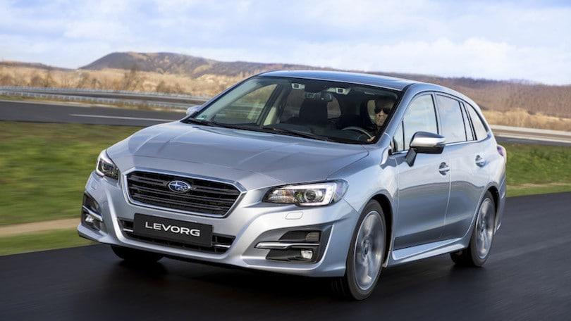 Subaru Levorg Model Year 2019: primo contatto