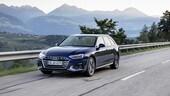 Audi A4 restyling, la prova