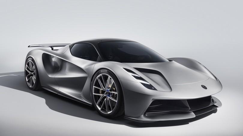Lotus Evija, leggerezza elettrica e prestazioni hyper