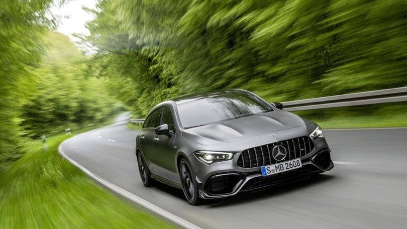 Mercedes-AMG CLA 45 Shooting Brake, la terza sorella delle alte prestazioni