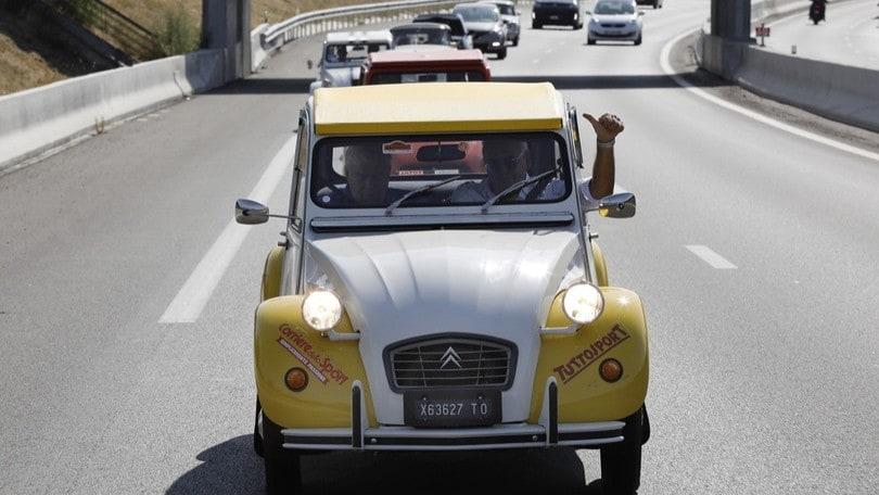 Citroën 2CV al Raduno del Secolo, la seconda tappa