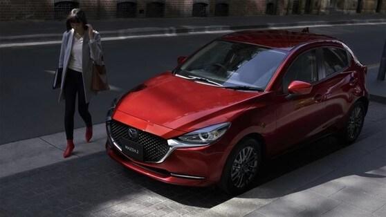 Mazda 2 restyling 2020, indizi giapponesi