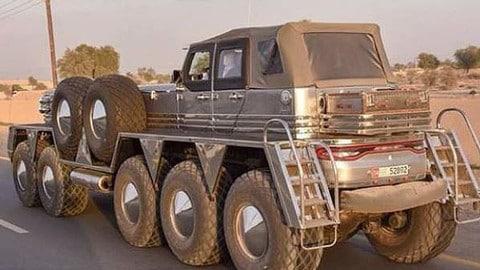 Auto più strane al mondo: ecco il garage dello sceicco Hamad FOTO