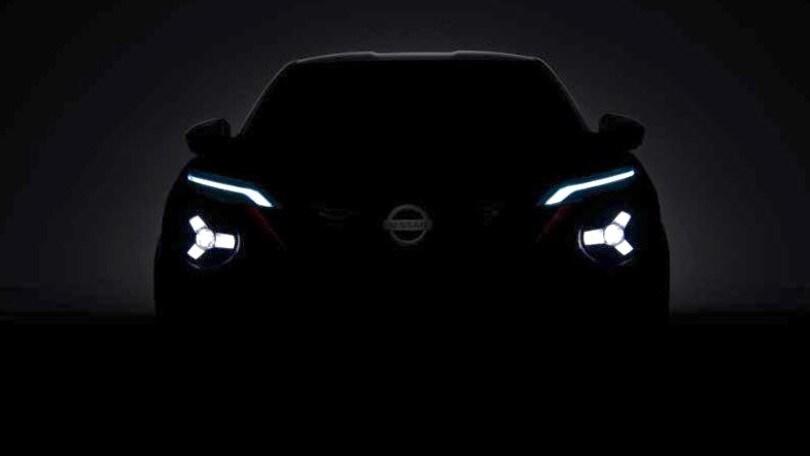 Nuova Nissan Juke, il teaser rivela il tetto scavato