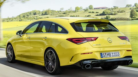 VIDEO: Mercedes AMG CLA 45 Shooting Brake