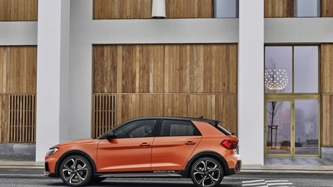 Audi A1 citycarver: foto
