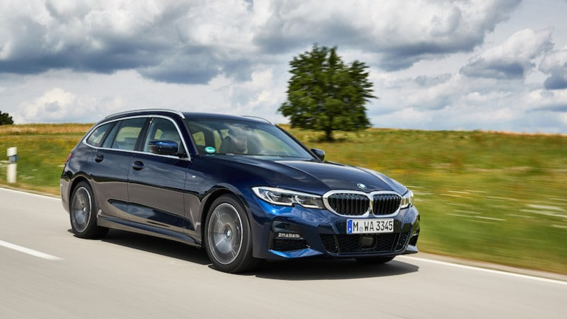 Nuova BMW Serie 3 Touring, la prova