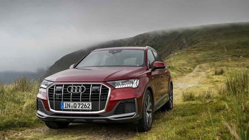 Audi Q7, test su strada