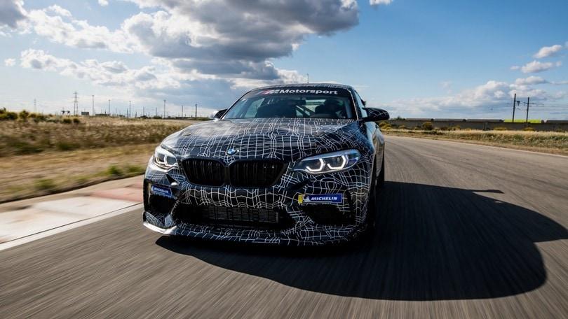 BMW M2 Competition, la versione da corsa