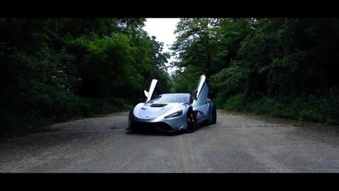 Tushek TS 900 Apex, supercar ibrida VIDEO