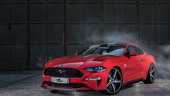 """Ford Mustang """"One of 7"""": il tuning Wolf Racing"""