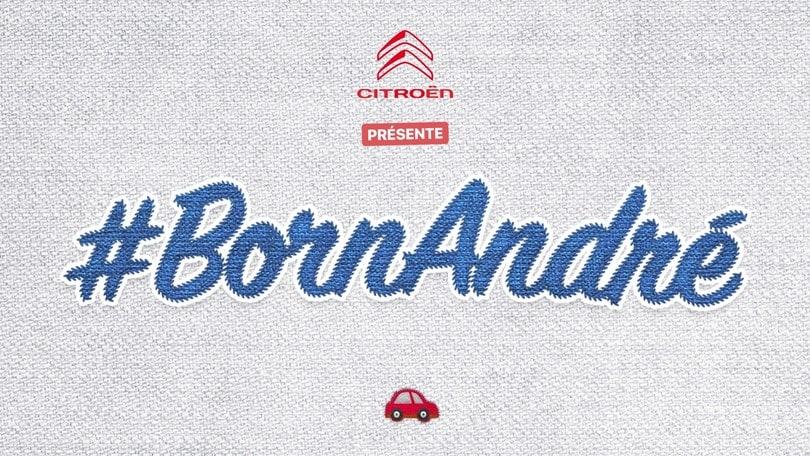BornAndré: una Citroën C3 Origins per la piccola Andrea