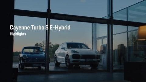 Porsche Cayenne Turbo S E-Hybrid: VIDEO