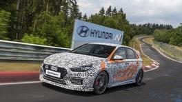 Hyundai i30 N Project C, alleggerita a Francoforte