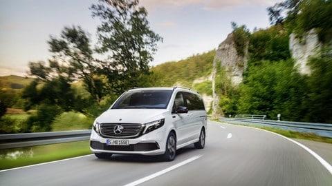 Mercedes EQV: foto