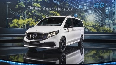 Mercedes EQV, il volto elettrico di Classe V a Francoforte