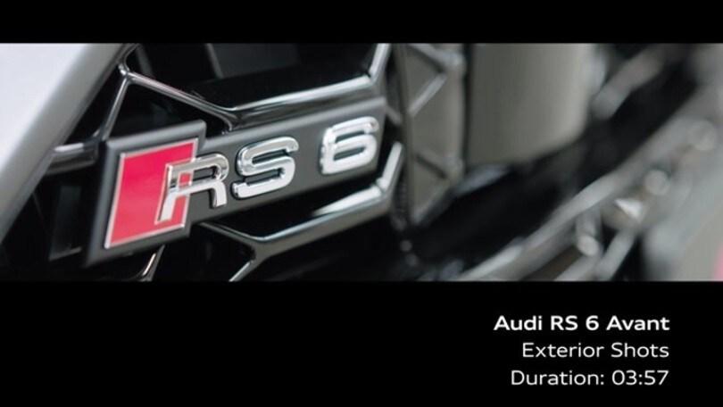 Audi RS 6 Avant: VIDEO