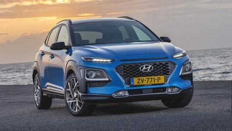Nuova Hyundai Kona Hybrid: le foto