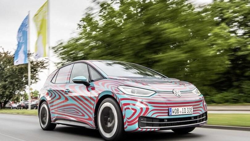Volkswagen ID.3, debutto in società a Francoforte