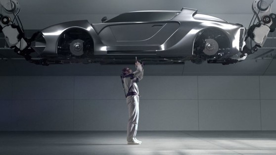 Hyundai VEX, l'esoscheletro per i lavori stressanti