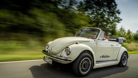Volkswagen eKafer, il Maggiolino elettrico: FOTO