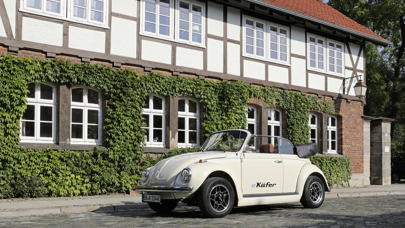 Volkswagen eKafer, il Maggiolino diventa elettrico