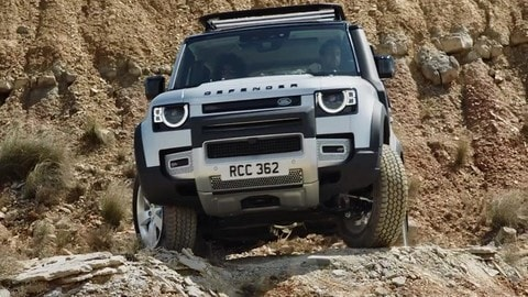 Land Rover Defender, Salone di Francoforte 2019: VIDEO