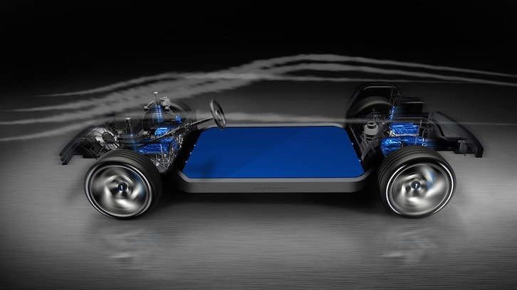 SUV Pininfarina, l'architettura elettrica è con Benteler e Bosch