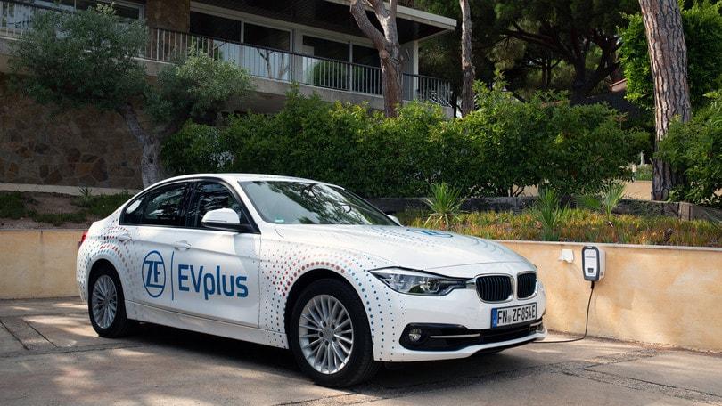 ZF EVplus, oltre 100 km di autonomia in elettrico per le ibride-plug in