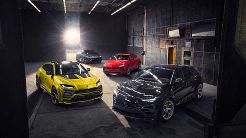 Lamborghini Urus, il tuning di Novitec: foto